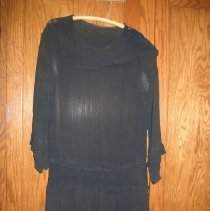 Image of Black sheer dress