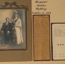 Image of Bergman-Melcher Wedding