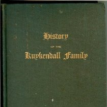 Image of Book - History of the Kuykendall Family