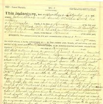 Image of Documents - Deed to Trustees of Eureka M.E. church