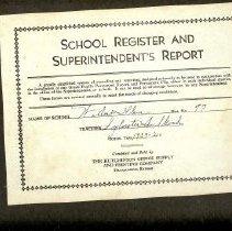 Image of Willow Glen school register