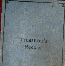 Image of Willow Glen Treasurer's Record