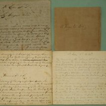 Image of Manuscript - Collection of Sermons from 1852