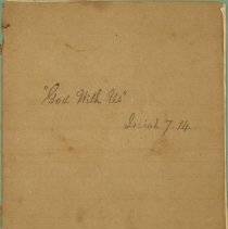 Image of Manuscript - Collection of Sermons from 1860
