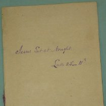 Image of Manuscript - Collection of Sermons from 1888