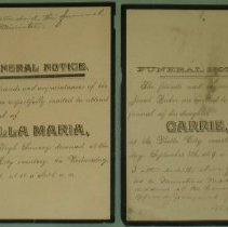 Image of funeral notices