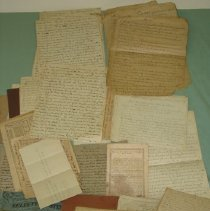 Image of Manuscript - miscellaneous items that were sermons and notes from G.W. Jermane