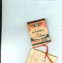 Image of VFW: Helen Hammes match book