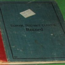 Image of Head School Cerk's Record