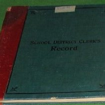 Image of Pinkley Schol Record Book