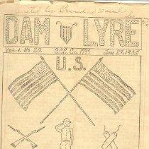 Image of Dam Lyre - CCC