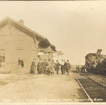 Image of G.I. Depot and Wrecking Crane