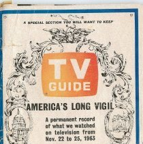 Image of 1964 TV guide
