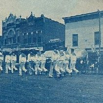 Image of Sailors in Parade