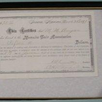 Image of Nemaha Fair Certificate