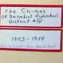 Image of Chimes, 1953-1954