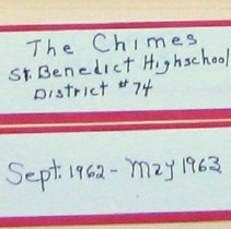 Image of Chimes, 1962-1963