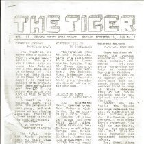 Image of The Tiger: November 11, 1949