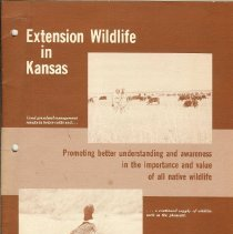 Image of Booklet - Extension Wildlife in Kansas