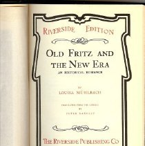 Image of Book - Old Fritz & The New Era