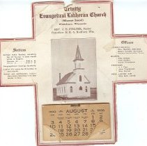 Image of Calendar - Trinity Evangelical Lutheran Church, WI