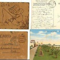 Image of Records - Collection of Alice Austin memoriabelia