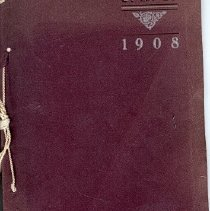Image of SHS 1908 Yearbook