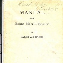 Image of Manual for Merrill Primer