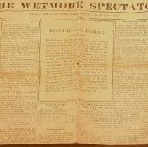 Image of The Wetmore Spectator