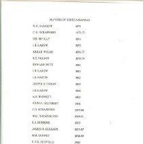 Image of Documents - Mayors of Seneca, Kansas