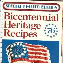 Image of Bicentennial Cookbook