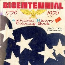 Image of Bicentennial coloring book