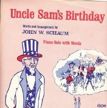 Image of Uncle Sam's birthday