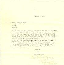 Image of Letter @ George Graham, Sen