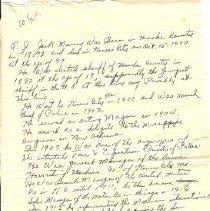 Image of Manuscript - A.J. Jack Murray