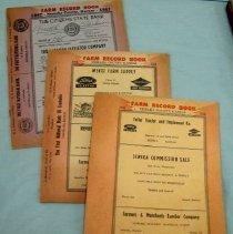Image of Farm Record Books