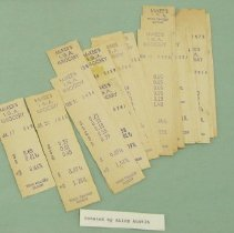 Image of Receipts from McKee's
