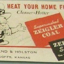 Image of Zeigler Coal Card