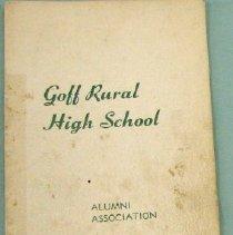 Image of Goff Alumni Program 1977