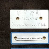 Image of GFWC notebook