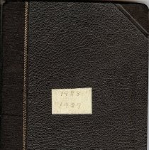 Image of SWC notebook 1936