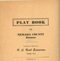 Image of 1957 Plat Books