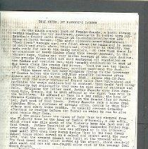 Image of Manuscript - Coal Creek History