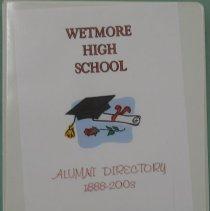 Image of Notebook - Wetmore High School Alumni Directory