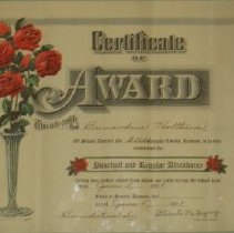 Image of Certificate of Attendance