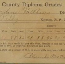 Image of County Diploma Grades