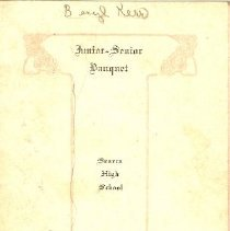 Image of 1928 Jr. Sr. banquet
