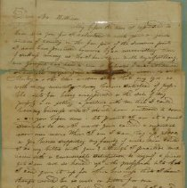 Image of Letter Written in 1836