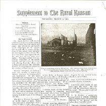 Image of Newspaper - Rural Kansan Office