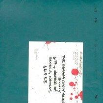Image of Vorhes letter, museum suggesti